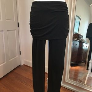 Zella stretchy leggings with built-in skirt.
